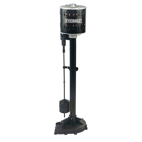 Everbilt 1/3HP Plastic Pedestal Sump Pump