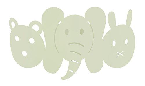Tosel 31953 Applique, Acier, E27, 40 W, Vert d'eau, 25 x 12 cm