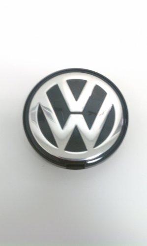 Pezzi di Ricambio Originali Volkswagen VW Copertura Mozzo Cerchioni in Alluminio (Passat, Sharan, T4) Coprimozzo
