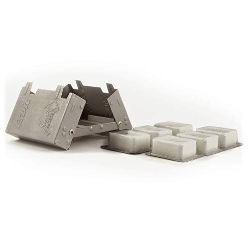 Esbit(エスビット) ポケットストーブスタンダード(固形燃料4g×20個付) ES20920000