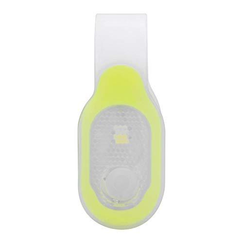 MAGT Sicherheitswarnleuchte, LED Klemmleuchte Silikon SMD Magnetische Sicherheitswarnleuchte für Camping im Freien(Gelb)