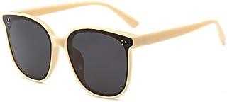 Sunglasses UV protection sunglasses round frame polarized sunglasses UV Protection (Color : E)