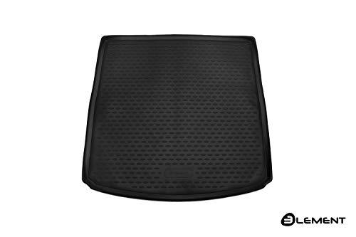Element EXP.ELEMENT4404V11 Passgenaue Premium Antirutsch Gummi Kofferraumwanne - SEAT Leon ST, Kombi - Jahr: 13-20, schwarz, Passform