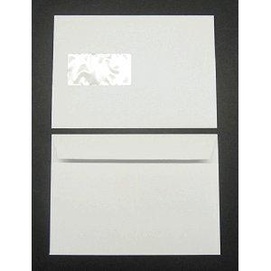 Blanke Briefumschläge Munken Lynx C5 120g/qm haftklebend Fenster VE=500 Stück zartweiß
