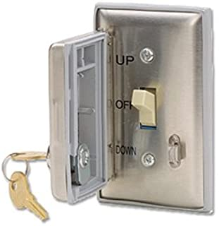Draper 121019 SP-KPS-I Motorized Screen and Lift Rocker Switch with Locking Coverplate