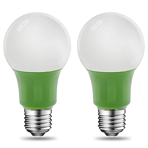 실내 플랜트용 LED 성장 전구 8W 2200K A19 성장 전구 60 와트 등가 전구 성장 전구 800LM E26 베이스 UL LISTED 2-PACK