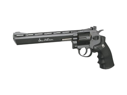 ASG Dan Wesson 8' CO2 Powered Airgun Revolver