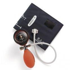 Welch Allyn DuraShock DS55 Silver Series - Esfigmomanómetro aneroide de Mano, Color Rojo (DS-5541-149)