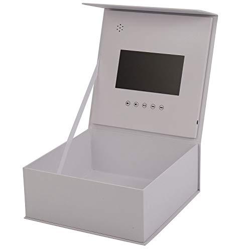 Tuneway 7 pulgadas video caja de regalo tarjeta de felicitación LCD control de luz caja de regalo tarjeta de felicitación video regalo regalo regalo graduación regalo cumpleaños sorpresa