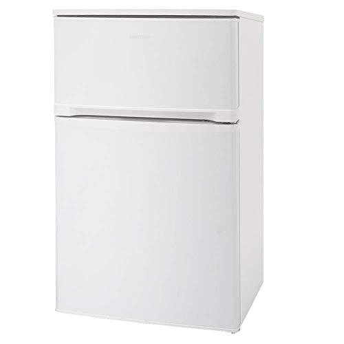 アイリスオーヤマ 冷蔵庫 81L 2ドア ノンフロン 冷凍冷蔵庫 右開き ホワイト AF81-W