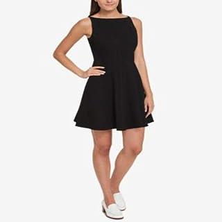 Tommy Hilfiger Fit Flare Dress Black 2
