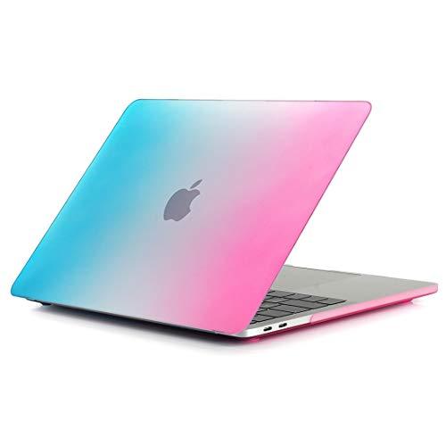 TONGTAIRUI-Cellphone Covers Schöne Taschen & Hüllen Für 2016 Neue MacBook Pro 13,3 Zoll A1706 & A1708 Laptop Regenbogen Muster PC Schutzhülle (SKU : Mbc0051lm)