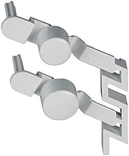 Tastenkappe weiß, 2-fach 481241029517 Bauknecht, Whirlpool, Ikea