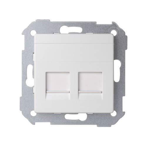 Simon - 82006-30 adaptador 1.2 conectores amp blanco nieve Ref. 6558230080