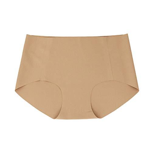 Cwang Pack Comodidad Sujetador Mujer niña Sujetador Superior sin Costuras Dormir Yoga Chaleco elástico,Amarillo Claro,XL