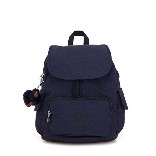 Kipling Damen City Pack S Rucksack Blau (Active Blue)