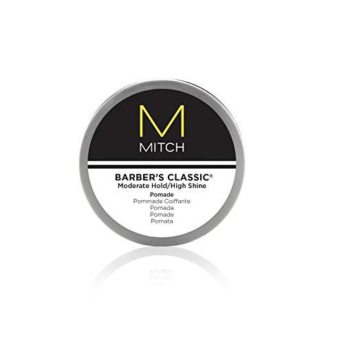 Paul Mitchell MITCH Barber´s Classic - Haar-Pomade für Männer-Haare mit Glanz, Styling-Paste für leichten Halt, gebändigte Locken und Wet-Looks, 85 g