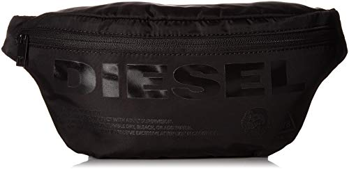 DIESEL ShoesSusegana F-suseHombreCarterasNegro (Black/Black Print) 8x18x34 Centimeters (W x H x L)