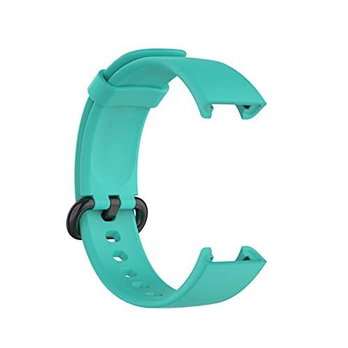 Correa De Silicona De Repuesto para Xiaomi MI Watch Lite Global Versión Smart Watch Pulsera Deportiva Pulsera para La Correa De Reloj Redmi (Color : Teal)