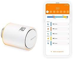 Netatmo Tête Thermostatique Connectée et Intelligente - Accessoire pour le Thermostat Intelligent et pour le Pack pour...