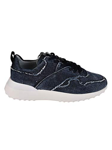 Tod's Luxury Fashion Damen XXW80A0Y570JDLU808 Blau Denim Sneakers | Jahreszeit Permanent