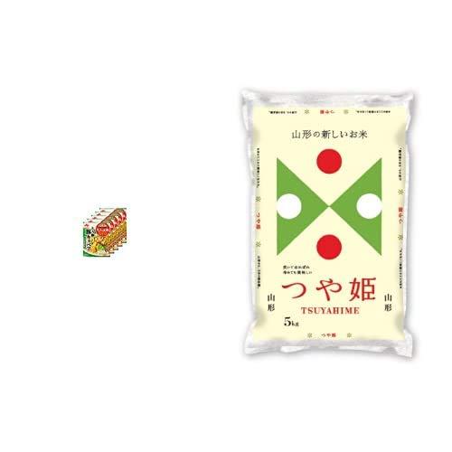 味の素 Cook Do きょうの大皿 合わせ調味料 とろ卵豚キャベツ用 100g×5個 +  【精米】山形県産 白米 つや姫 5kg 令和元年産