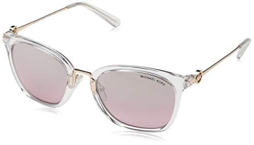 Michael Kors Lugano 31057e 53 Gafas de Sol, Clear Crystal, Mujer