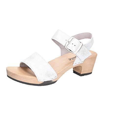 Softclox Damen Sandaletten Kea S3380 Silber 636108