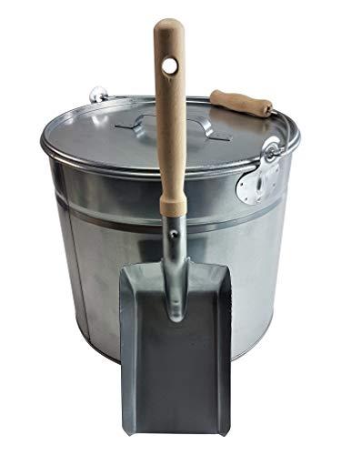 Schürer Metallwaren -  Ascheeimer 15l mit