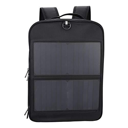 14 Watt Solarrucksack Solar Laptop Tablet Rucksack USB Ladeanschluss Business Bag für...