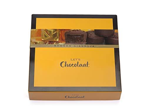 Lets Chocolaat Caja Bombones Chocolate Gianduja, 150gr (10 unidades)