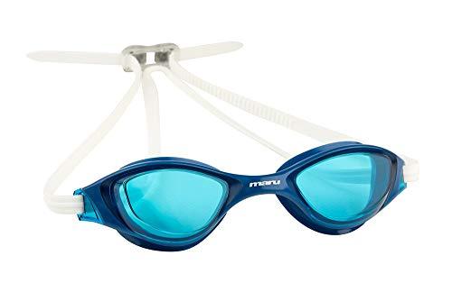 maru AG5621 Schwimmbrille, blau/weiß, Einheitsgröße