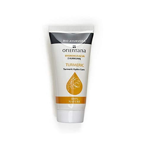 Orientana Hydro Kur mit KURKUMA- 100% Vegane, 98% Natürliche, strake feuchtigkeitsspendende, entzündungshemmende und verjüngende Wirkung, 30 g