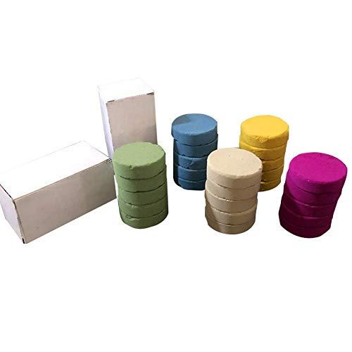 JIANDONG 5 PCS Color De Humo Fabricante De Color De Humo Tabletas Tabletas Niebla Y El Humo Fotográfico Accesorios De Fotos (Color : Red)