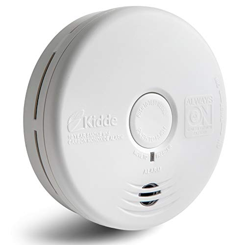 Kidde 21010170 10 Year Smoke and Carbon Monoxide Alarm Detector | Photoelectric | Kitchen | Model P3010KCO