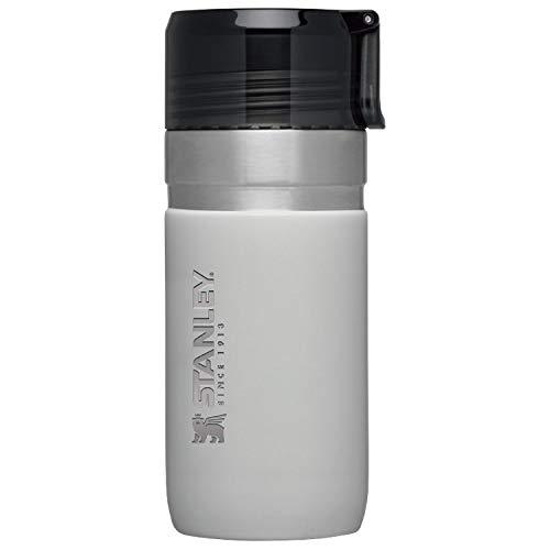STANLEY(スタンレー) 新ロゴ ゴーシリーズ 真空ボトル 0.47L ライトグレー 保温 保冷 直飲み 水筒 アウトドア 保証 09541-007 (日本正規品)