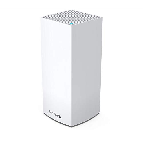 Linksys AX4200 Smart Mesh Wi-Fi 6 Router Whole Home WiFi Mesh System, Tri-Band AX Wireless Gigabit Mesh Router, Fast Speeds up to 4.2 Gbps, coverage up to 2,700 sq ft, up to 40 devices,1-Pack (MX4200)
