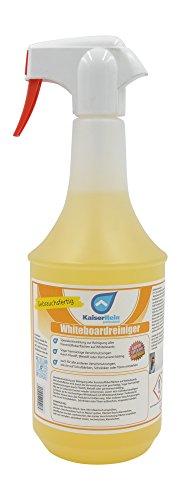 KaiserRein 1L Whiteboard Reiniger Spray vielseitig verwendbar für Kunststoffoberflächen I Whiteboardreiniger gegen permanent Stifte I Tafelreiniger