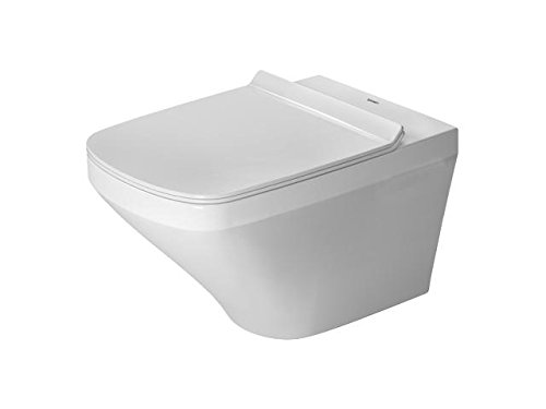Duravit Wand-WC (ohne Deckel) DuraStyle 540 mm Tiefspüler, rimless, Durafix, weiss