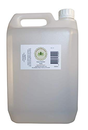 Qualified Naturopath - Professional Practitioner Products 5000 ml (5 Litre) 0ppm Pure Food Grade Distilled Water in a HDPE Jerrycan