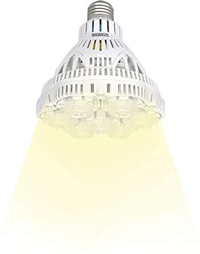 SANSI Pflanzenlampe LED E27 Vollspektrum-36W Pflanzenlicht Tageslichtweiß 2700lm Grow Light Voller Zyklus Wachstumslampe für Gewächshäusern,Zimmerpflanzen,Hydroponische Pflanze