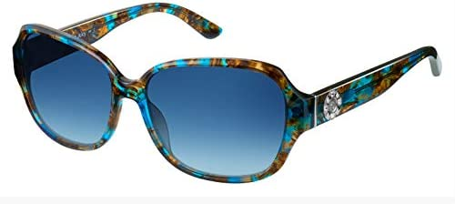 Juicy Couture Juicy 591 S 0S9W Blue Brown Rectangle Sunglasses product image