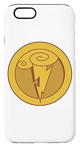 Ercole Simbolo Di Il Di Dio fulmine Custodia Per Telefono Compatibile Con iPhone 6, iPhone 6S Copertura in Plastica + Silicone Dura Hard Plastic Cover