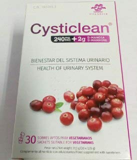 Cysticlean 240 mg PAC + 2 g D-Manosa 30 sobres