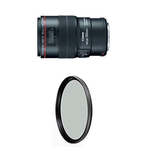 Canon EF 100mm f/2.8L IS USM Macro Lens for Canon Digital SLR Cameras w/ B+W 67mm XS-Pro HTC Kaesemann Circular Polarizer