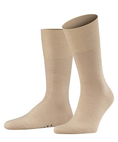 FALKE Herren Airport M SO Socken, Blickdicht, Beige (Sand 4320), 43-44 (2er Pack)