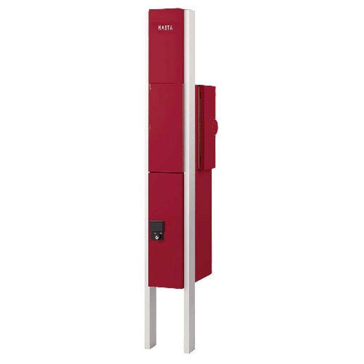 魅力的保護傾くクオール 門柱+宅配ボックス+ポスト(右) 3点セット (ドアホン穴なし) KS-GP10A-NH-M3R-TBD ナスタ