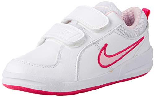 Nike Unisex-Kinder Pico 4 (Psv) Low-Top, Weiß (White/Prism Pink-Spark), 33 EU