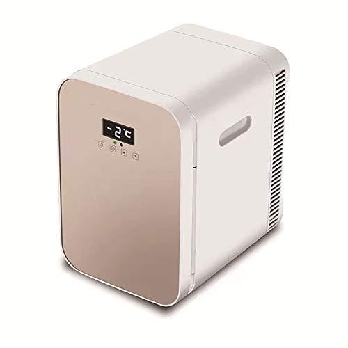 LSY Nevera Coche, Mini Refrigerador Compacto Portátil Personal Refrigerador con Control Temperatura Digital AC/DC Alimentado para Coche Hogar Dormitorio Oficina Dormitorio