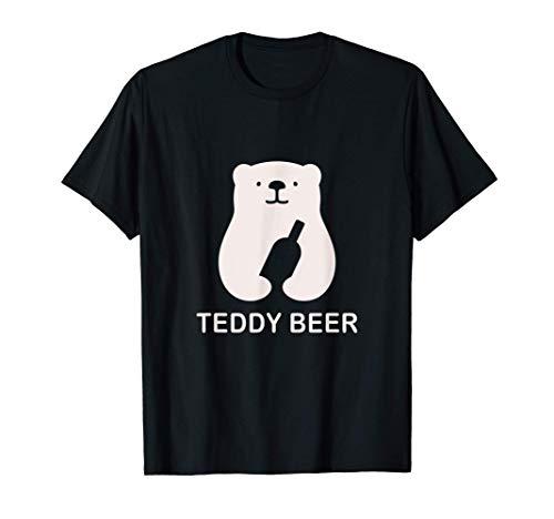 Logo de l'adorable ourson à la bière T-Shirt